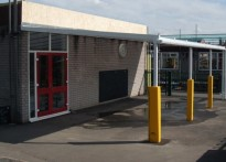 Todwick Junior & Infant School - Wall Mounted Canopy