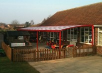 Houldsworth Valley Primary School - Free Standing Canopy