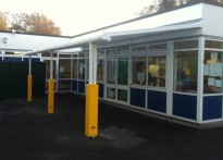St John's Primary School - Wall Mounted Canopy