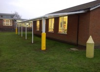 Springfield Infant & Nursery School - Wall Mounted Canopy