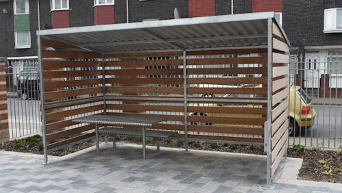 Residential Waiting Shelters - Able Canopies Ltd.