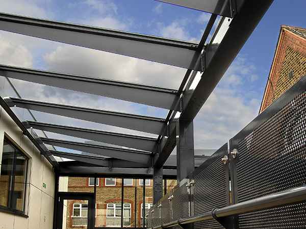 & Glass Wall Mounted Canopies | Canopies | UK Canopy Expert