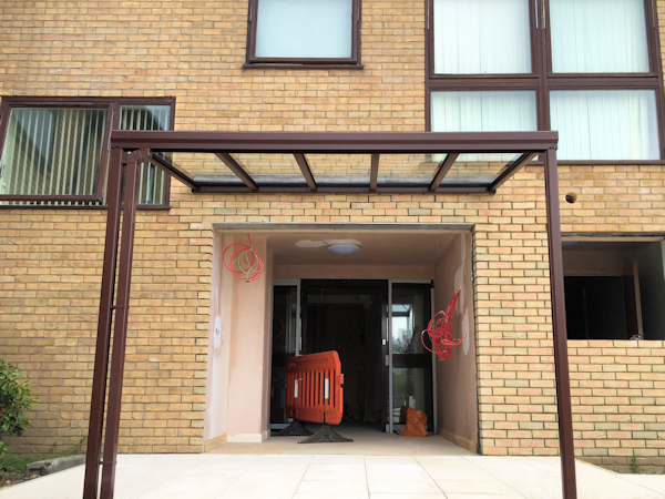 Glass Wall Mounted Canopies Canopies Uk Canopy Expert