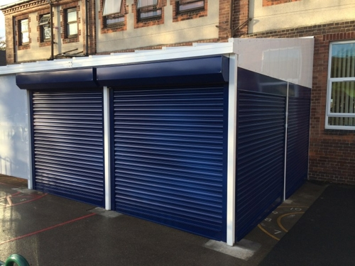 Secure Roller Shutters Able Canopies