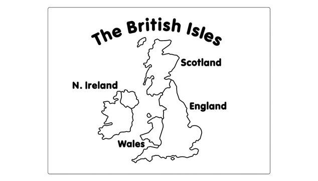 British Isles Map Panel - Able Canopies