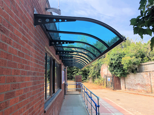 The Abberton Entrance Canopy Canopies Uk Canopy Expert