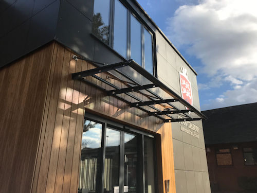 Beck Entrance Canopy Canopies Uk Canopy Expert