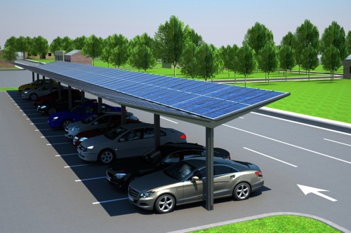 Kensington Dual Pitch Solar Carport Amp Canopy Generate