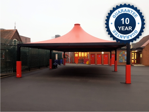 Codale Conic The Codale Conic Tensile Fabric Structure is a cost effective fabric free standing canopy which is covered with waterproof tensile fabric and ... & Tensile Fabric Structures and Canopies - Waterproof u0026 Stylish ...