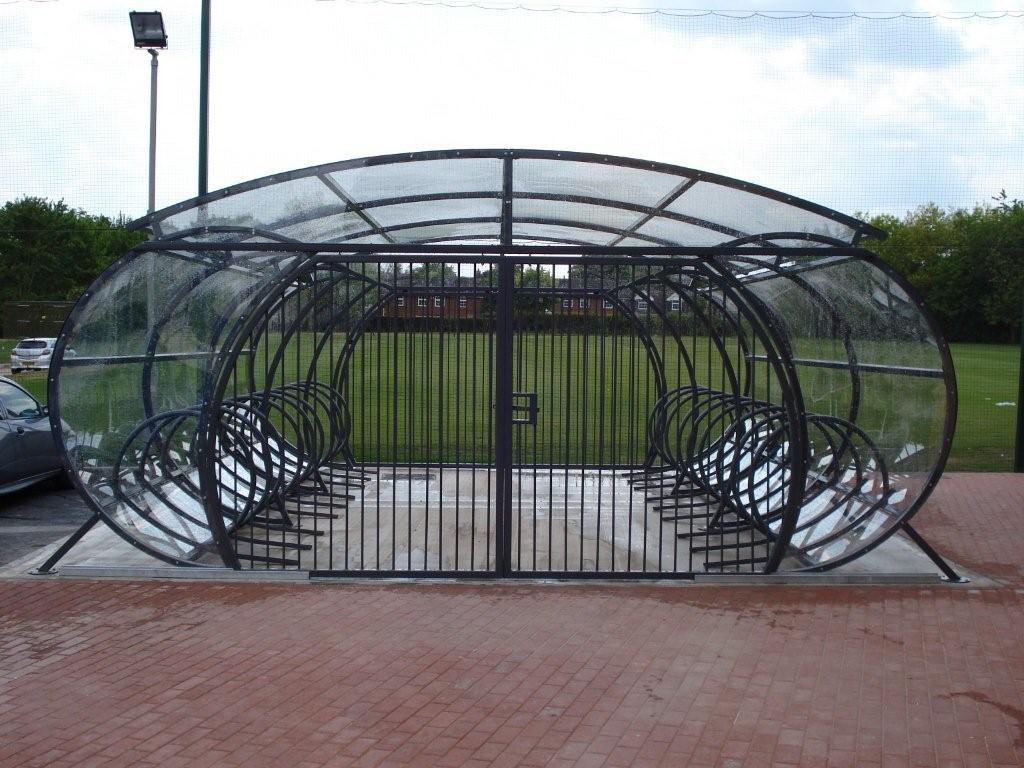 Witton Cycle Compound Bike Parking Canopies Uk