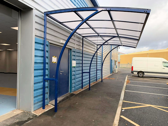 Ennerdale Junior Cantilever Walkway Canopies Uk Canopy