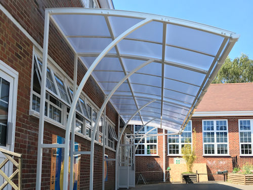 Print this Product & Ennerdale Junior Cantilever Walkway | Canopies | UK Canopy Expert