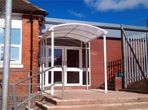 Whiteside Entrance Canopy Canopies Uk Canopy Expert