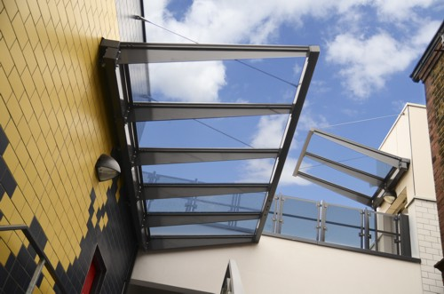 & Kensington Entrance Canopy | Canopies | UK Canopy Expert