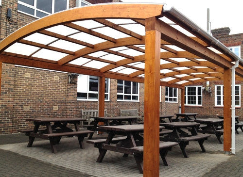 Tarnhow Dome Free Standing Timber Canopy Canopies Uk
