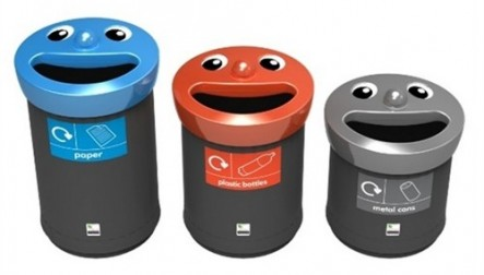 Smiley - Novelty Bins