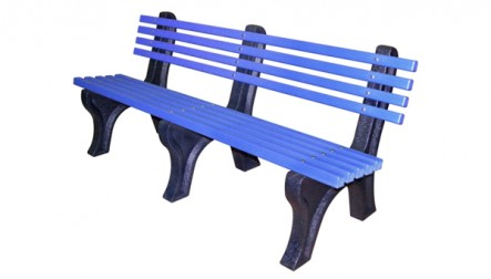 Burnside Bench With Back