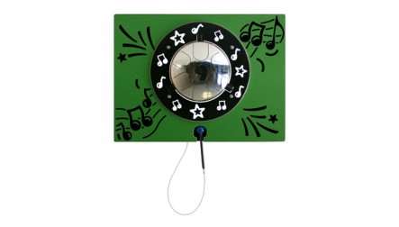 Stainless Steel Drum Musical Panel