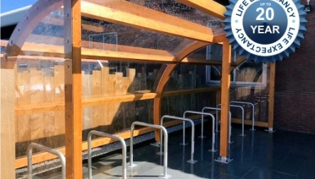 Denver Timber Cycle Shelter