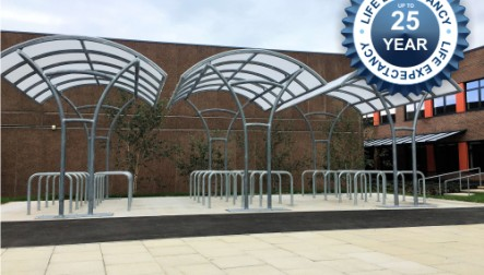 Langdale Cycle Shelters