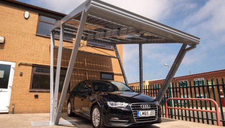 The Albedo Effect Solar Carport & Canopy