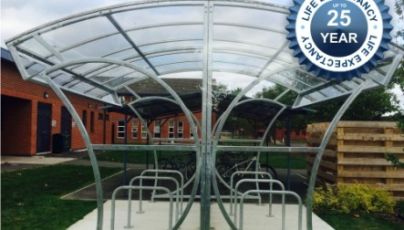 Free Standing Witton Cycle Shelters
