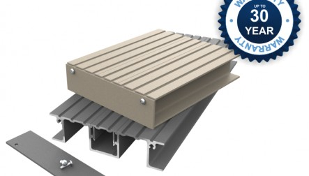 Fire Resistant Flat Balcony Decking