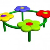 Circular Flower Bench Range