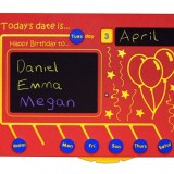 Today's Date Is... Sliding Educational Play Panel