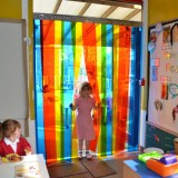 PVC Rainbow Curtains