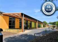 Tarnhow Mono Wall Mounted Timber Canopy