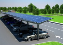 Kensington Dual-Pitch Solar Canopy