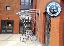 Wall Mounted Witton Cycle Shelter