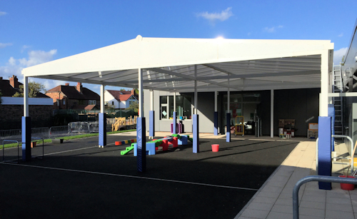 Commercial Big Span Canopies for Architects