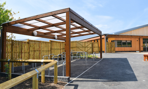 Commercial Timber Canopies for Contractors