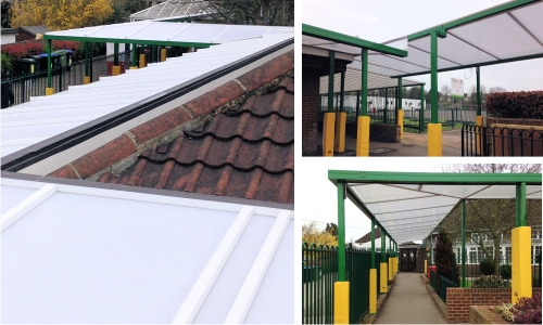 Commercial Wall Mounted Canopies for Contactors