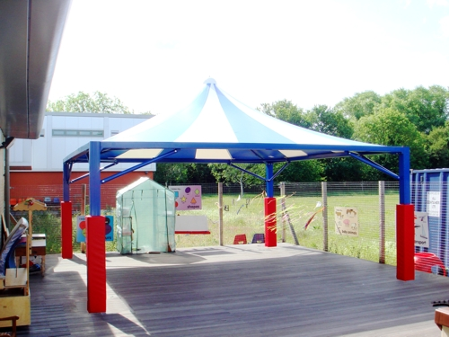 Canopies For Free Flow Outdoor For Early Years Settings