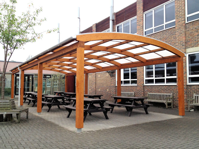 ... Outdoor Dining and Seating Areas ... & Outdoor Dining and Seating Areas for Schools | Canopies | UK ...