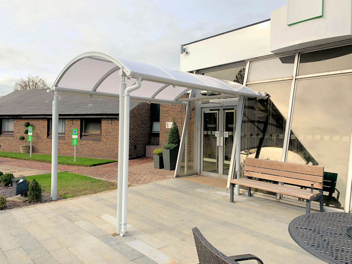 new product f76cd bfcab Retail & Commercial Entrance Canopies | Canopies | UK Canopy ...