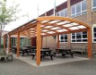 Outdoor Dining Canopies for Schools
